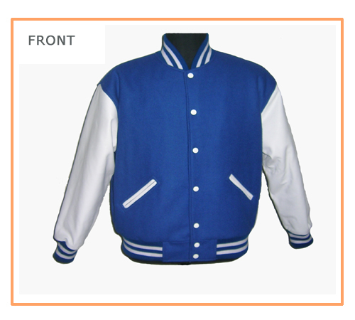 Style 526 Wool Vinyl Jackets4all Com Promotional